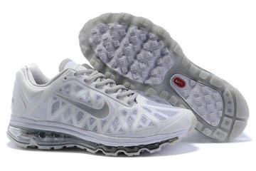 Nike Air Max 2011 WhiteMetallic Silver Mens Shoes #shoes