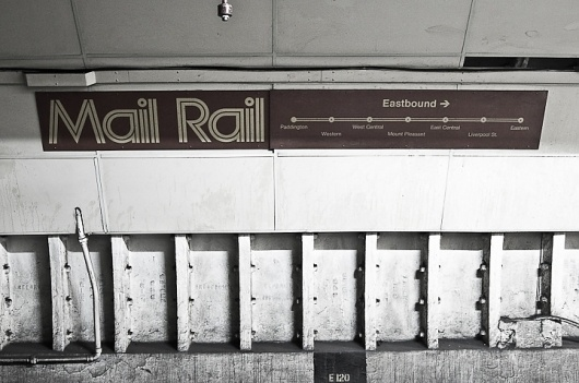 Security Breach: The London Mail Rail | Place Hacking #type #vintage