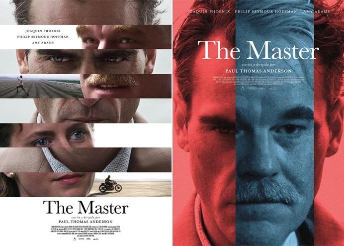 THE_MASTER_BOCETOS_02 #movie #poster #film
