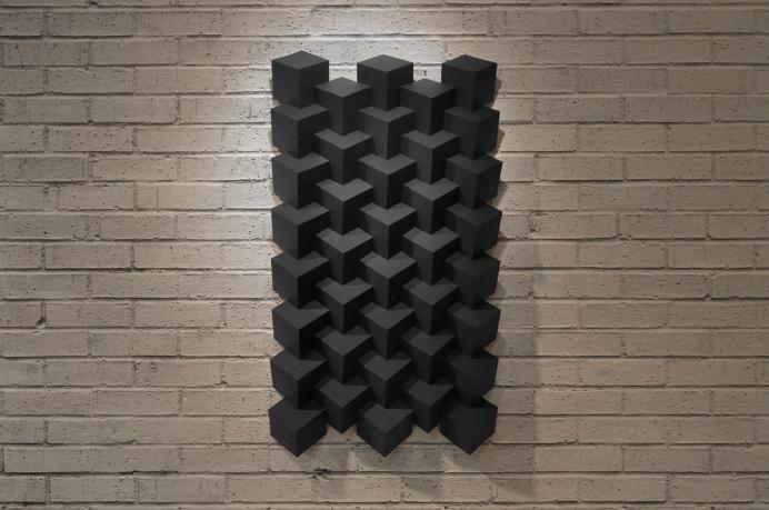 Ryan Filipski's AMAZING Paper Sculptures | #paper #art #paperart #black #sculpture #3d #geometric