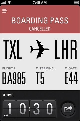 App Store - Flight Card #iphone #app