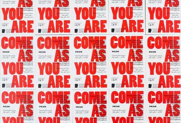 Prism, Come As You Are, Exhibition Collateral on Behance