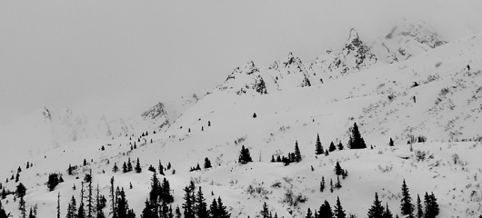 COMUNE // CURTIS WOODMAN AND GRAY THOMPSON IN ALASKA // COMUNE // Two Thousand Twelve #photography #snow