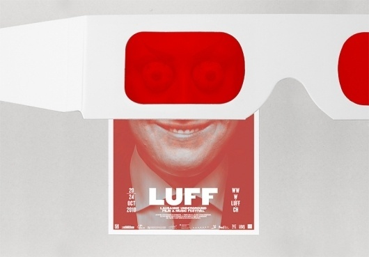 LUFF underground propaganda (New) : DEMIAN CONRAD DESIGN #red #filter #design #graphic #poster