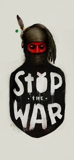 182d94d8934337f1ccef5c00cef8d78e.jpg (425×916) #illustration #red #war #black