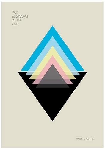All sizes | Untitled | Flickr - Photo Sharing! #triangle #geometry #layering #poster