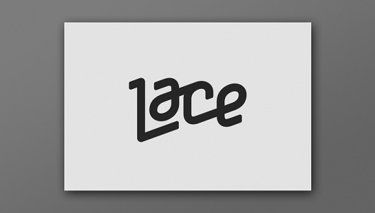 Más tamaños | LACE | Flickr: ¡Intercambio de fotos! #identity #logo #lace #magazine #typography