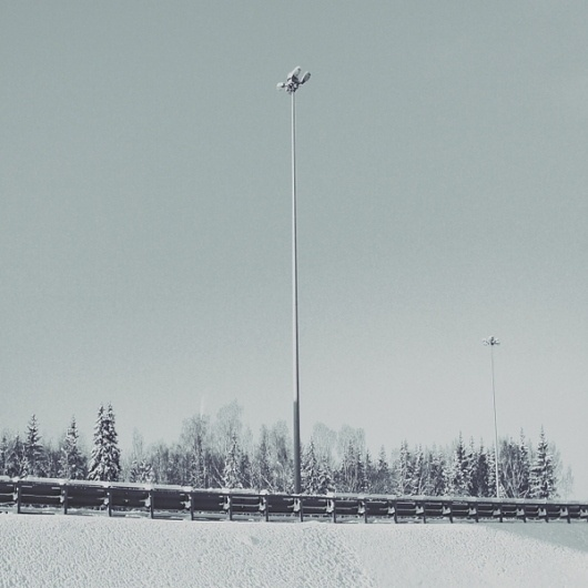 untitled on the Behance Network #photography #snow #garmonique