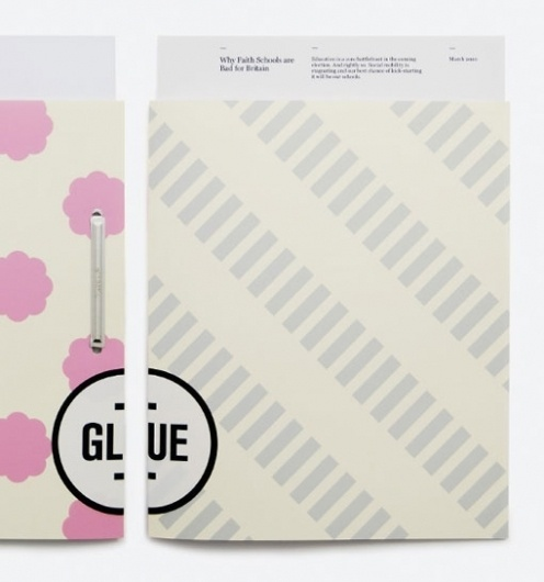 Design Work Life » Magpie Studio: Glue #brand #stationary