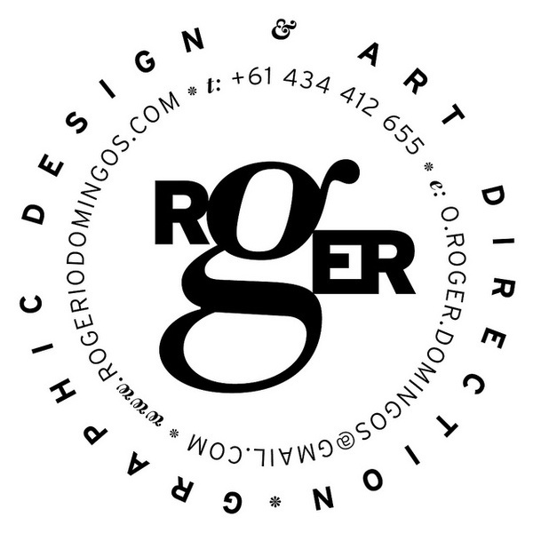 logo roger #logotype #card #identity #business