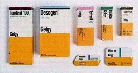 Beautiful Geigy Packaging