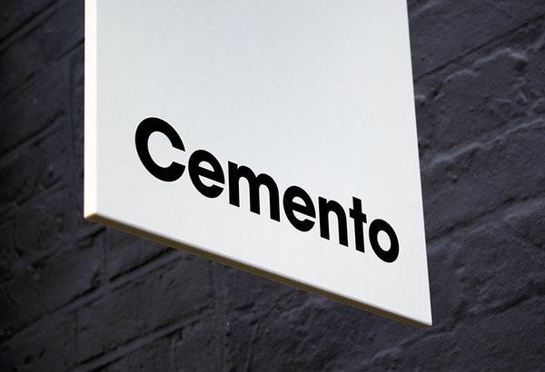 Cemento_16 #sign #logo #visual #identitity