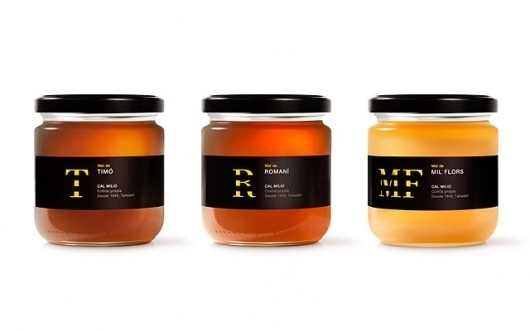 Mel de Cal Milio ~ Simply Beautiful Spanish Honey #gold #letter #honey
