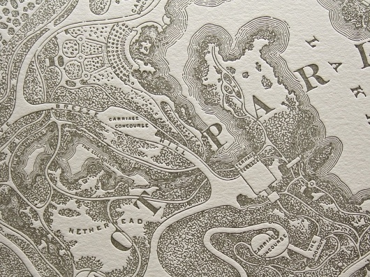Graphic-ExchanGE - a selection of graphic projects #type #letterpress #map
