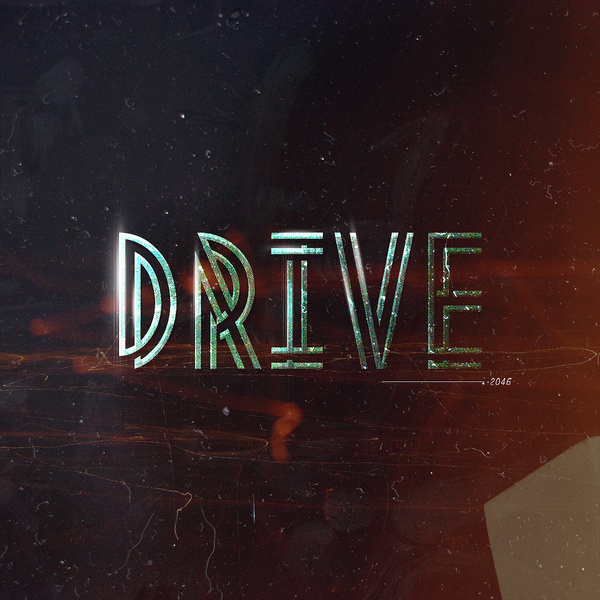 betype:DRIVE•2046 (by Warren Keefe) #typography