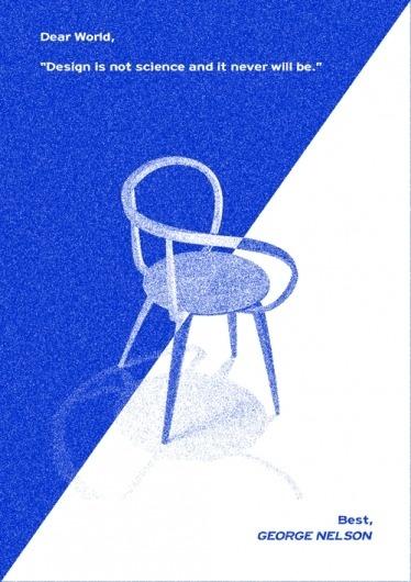 Cosmos Collective - design studio #project #pretzel #chair #design #graphic #simple #cosmos #poster #collective