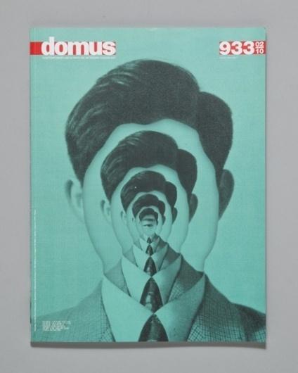 Domus Magazine Cover by Ill Studio #malinowsky #cover #nicolas #ill #collage #magazine