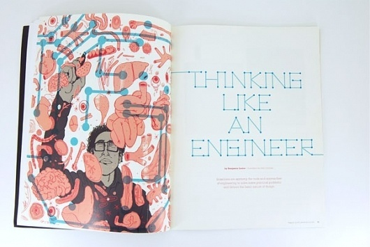 Josh Cochran: work #illustration #color #magazine #typography