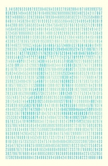 happy pi day | Flickr - Photo Sharing! #pi #pie #design #graphic #poster #day #numbers #blue