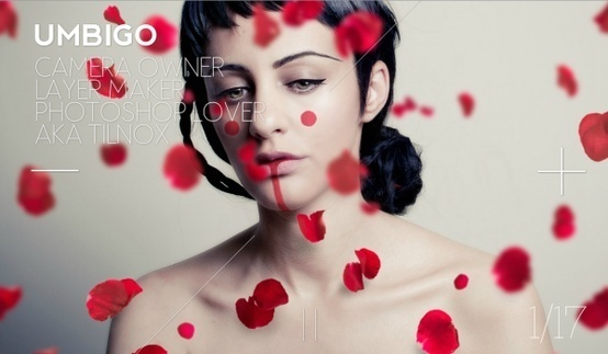 Web design inspiration #design #web #roses