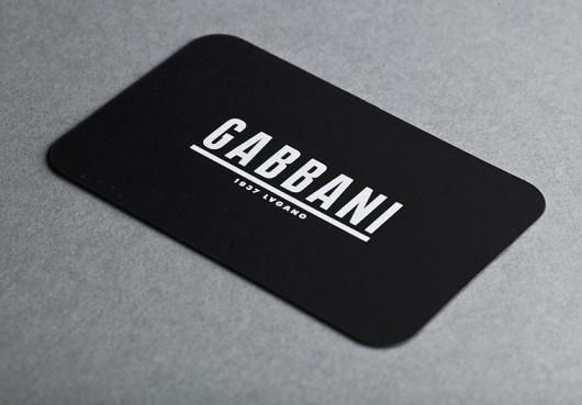Gabbani stationary : DEMIAN CONRAD DESIGN #card #business