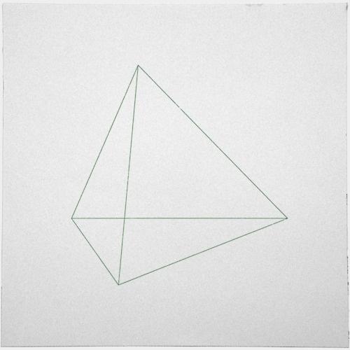 Geometry Daily #keyline #geometry #triangle #shape #daily #pyramid