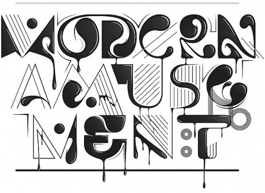Abstract | Flickr - Photo Sharing! #type #illustration #lettering #typography