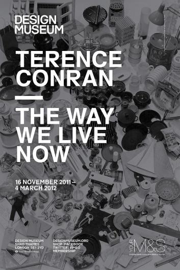 Spin — Terence Conran Exhibition #exhibition #typography