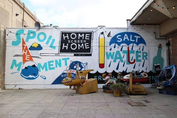 #stephenpowers #streetart #publicart #mural