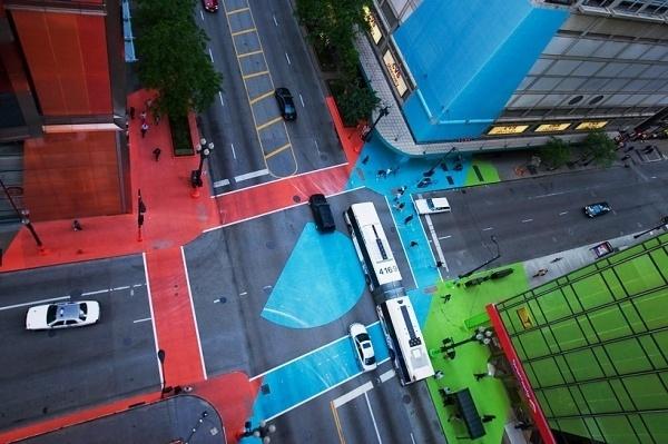 jessica stockholder: color jam #chicago #jam #road #stockholder #jessica #street #colour