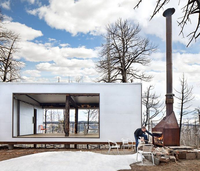 Phoenix Retreat: A House Rises from the Ashes
