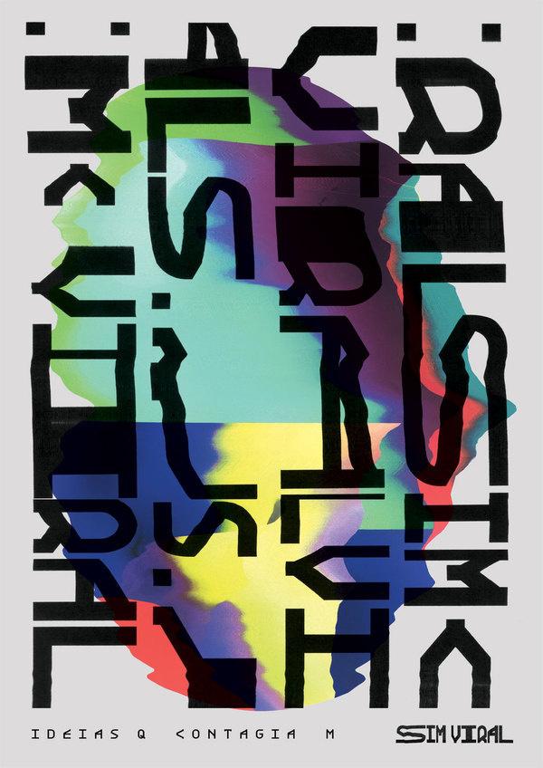 Estúdio Arnold | Sim Viral #print #colors #poster #type #scanner