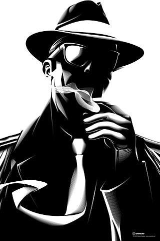 FFFFOUND! | Noir on the Behance Network #illlustration