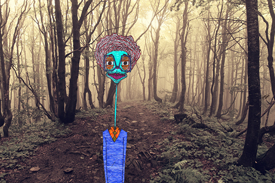 """Omar Rodriguez Lopez"" by Molly Yllom #illustration #character #design"