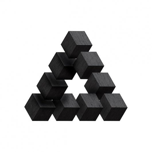 1511001268071614.jpg (567×567) #wood #illustration #impossible #blocks