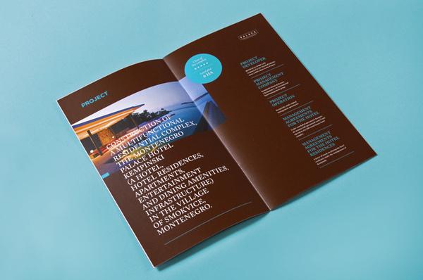 «Maxim Arbuzov — Montenegro Palace» в потоке «Лукбуки / Каталоги» — Посты на сайте Losko #catalog #brochure #typography