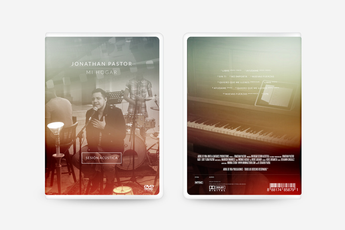 Jonathan Pastor #packaging #music #heaven #god #glory #home #minimal #pure #home #dvd