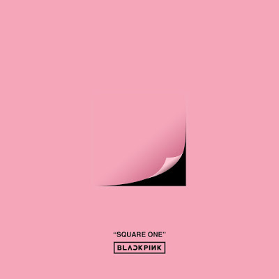 black pink square one album cover