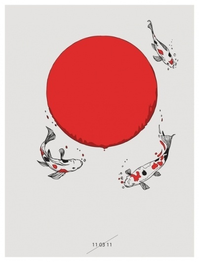huebucket (Koi and Sun I will donate 100% of my profits of...) #sun #koi #japan #tsunami
