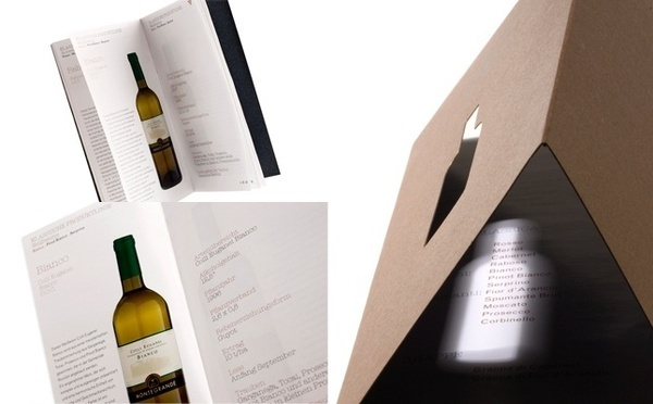 Artwork by www.o-zone.it #bottle #languages #montegrande #two #wine #cover #catalogue