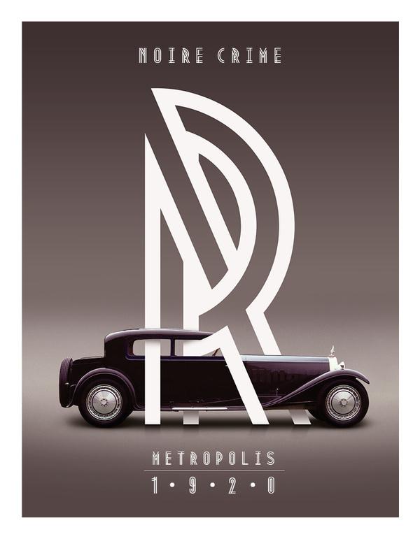 Metropolis 1920 on Behance #australian #typeface