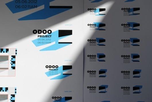 Odooproject Identity on the Behance Network #logo