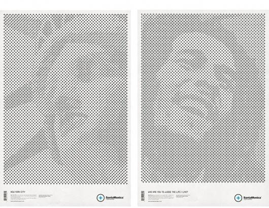 Mark Brooks Graphik Design » SANTAMONICA LW #mark #santa #lw #posters #monica #brooks
