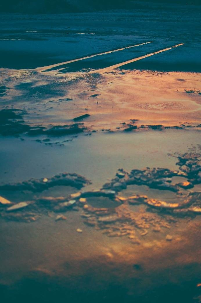 Surface #ice #sweden #sun #winter