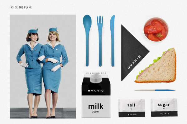 VARIG Logo Redesign | Abduzeedo Design Inspiration #flight #redesign #airline #brand #identity #logo