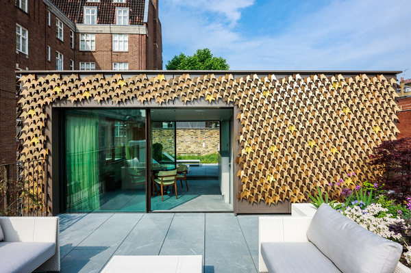 A Leaf Covered House Grows in London #house #leaf #environment #space #architecture