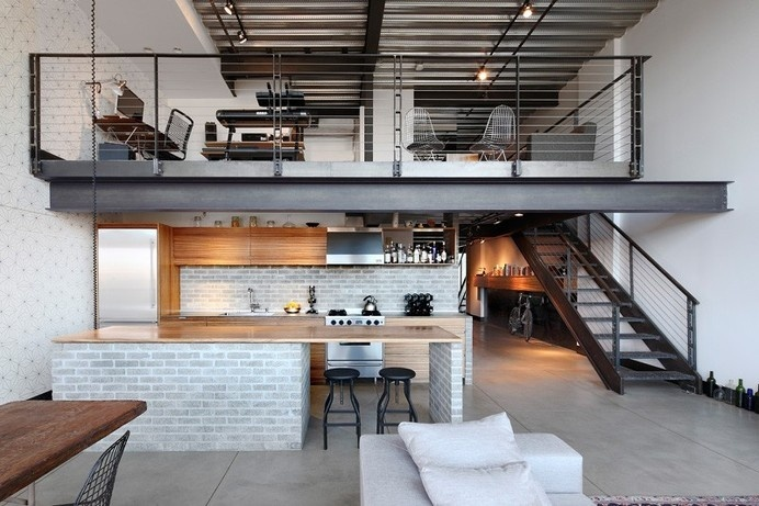 Capitol Hill Loft by SHED Architecture & Design #minimalist house