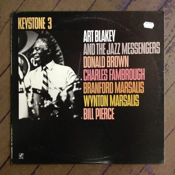 Art Blakey Keystone 3, Album Cover Typography   Typophonic #type