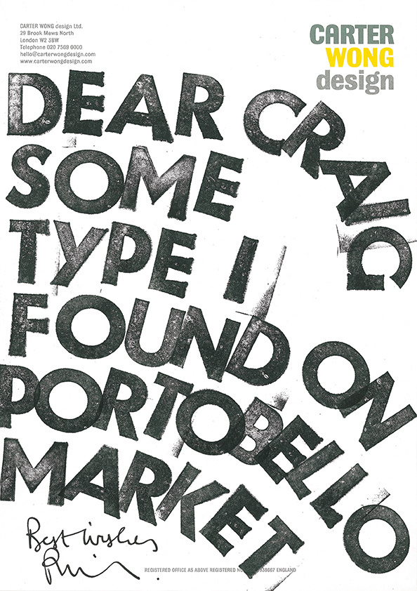 Phil Carter #typography