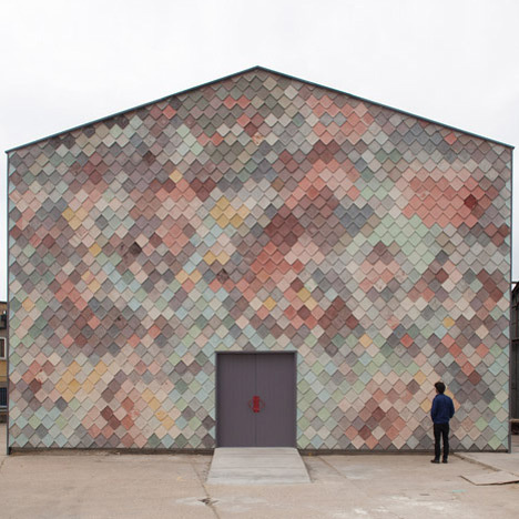 Yardhouse by Assemble #architecture #pantones #pattern
